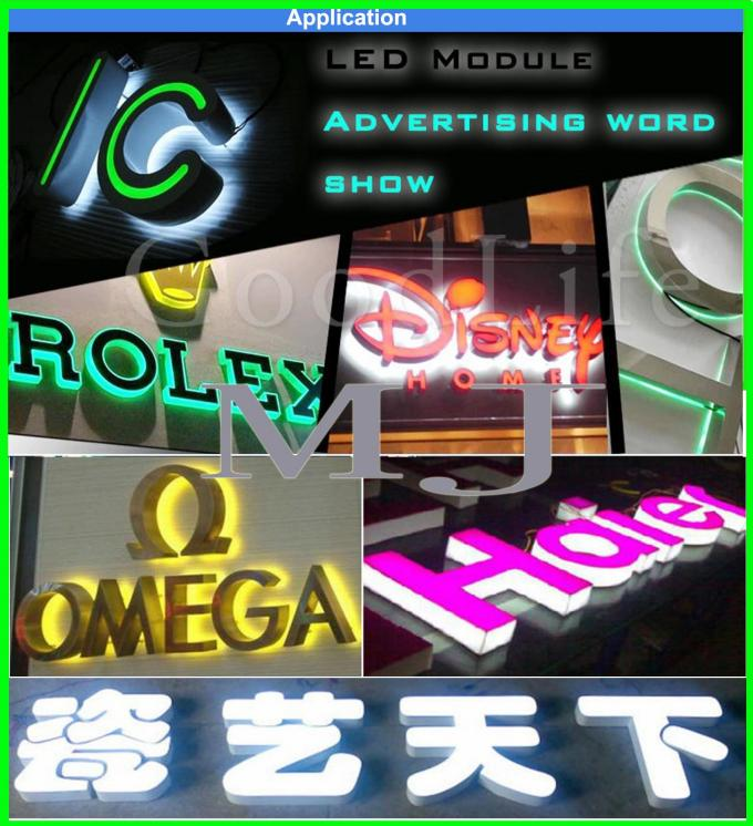 12V 5050SMD RGB LED module light 3led modules color changeable decoration light led backlight channel letter advertising