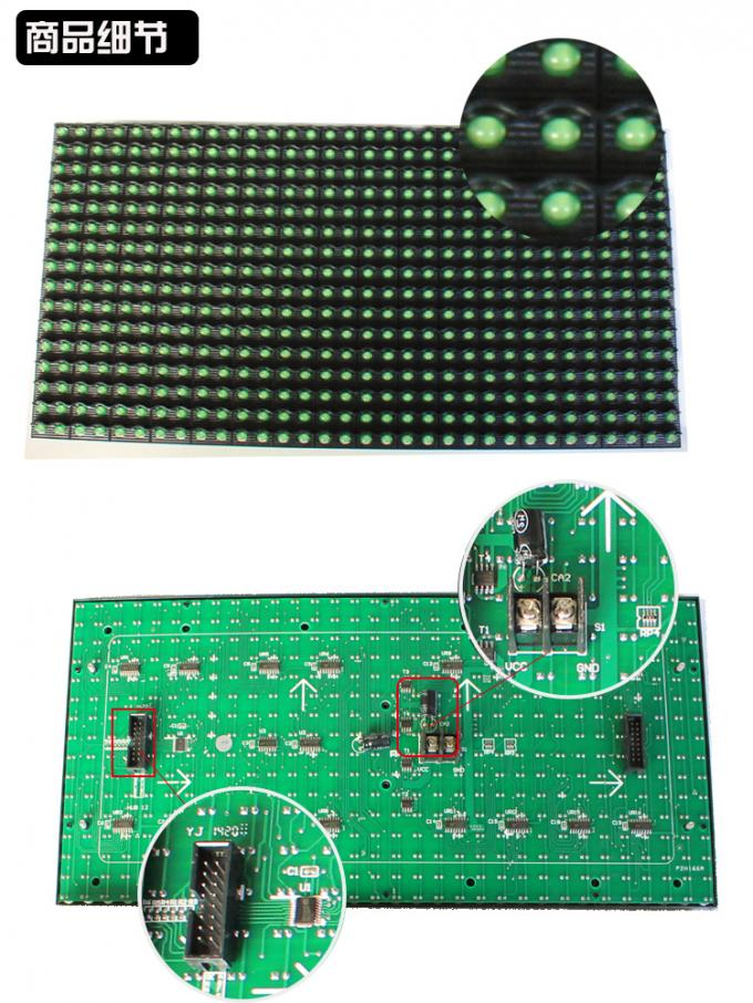 5V P10 led display module led screen panel 320*160 semioutdoor display board