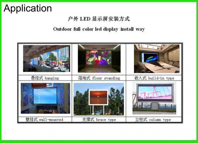 Hot sell Outdoor P10 SMD LED Module 320*160MM , 1/4 Scan P10 Outdoor SMD video LED display screen