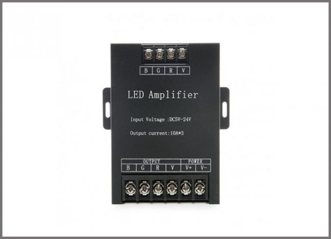 LED amplifier RGB controllers 5-24V.for led pixel strips modules light
