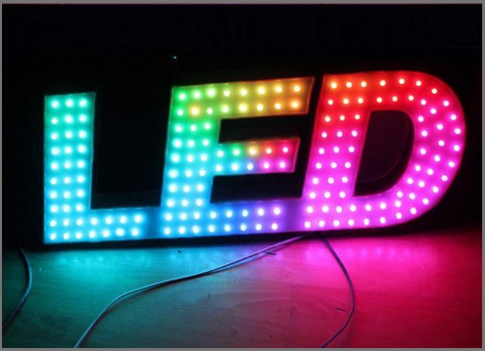 12mm 9mm rgb Pixels lights colorcharging led dot light for colorful lighting signs
