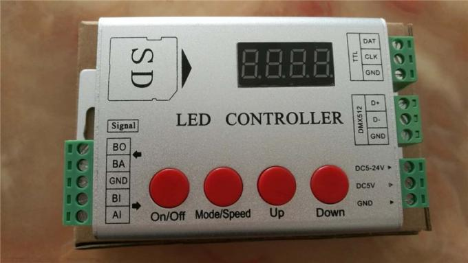 DMX512 RGB LED controller for fullcolor led programmable light