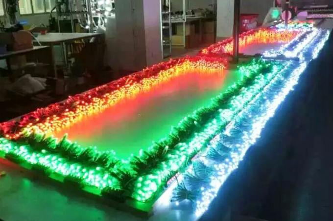 Flexible pixel tape light
