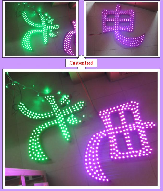 high brightness DC5V 12mm pixel led dot light for building decoration waterproof