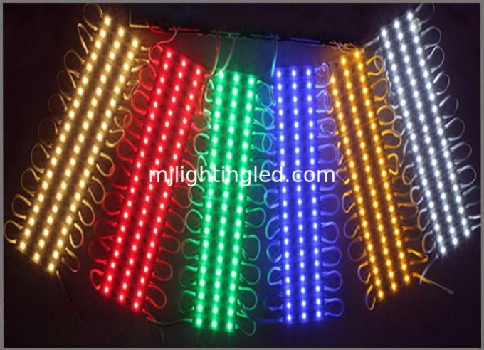DC12V SMD 5050 3LEDs LED Modules IP65 Waterproof Light Lamp 5050 White/Red/Green/Blue/RGB High Quality Advertising Light