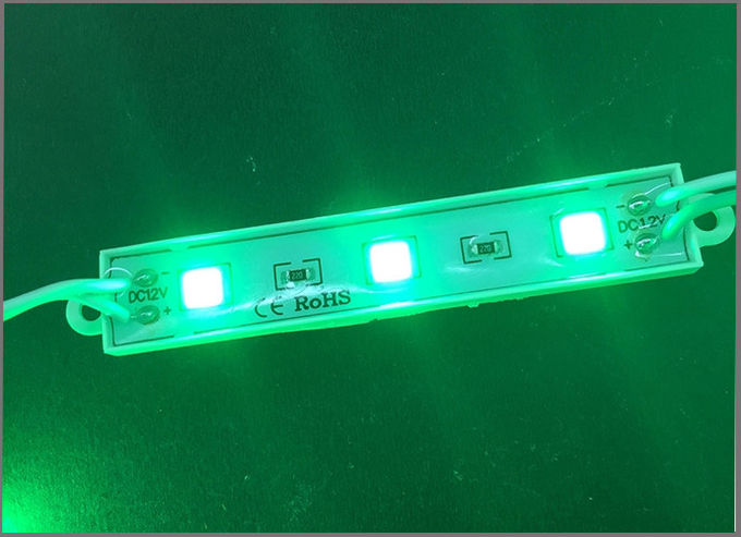 LED 5050 3led module light 12v sealing glue led module 2 years warranty for building signs