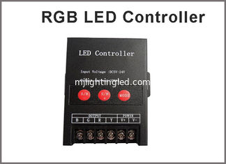 China 5V-24V RGB LED controller for RGB LED pixel RGB LED strip RGB LED lightings supplier