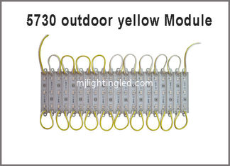 China 3led 5730 LED module light  yellow 12VDC led backlight outdoor advertising signage led signs building channel letter supplier