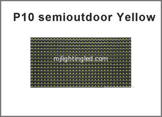 China 5V display screen yellow color 320*160  32*16pixels for advertising signage led display screen P10 LED module supplier