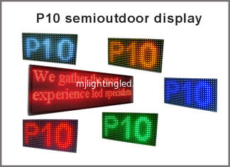 China 5V P10 module led display 320*160  32*16pixels display panel P10 advertising signage red green blue yellow white supplier
