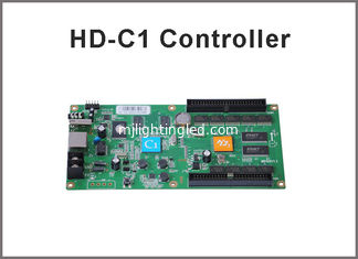 China HD-C1 Asynchronous Video Full Color LED Control Card USB+Ethernet Port Suppor Indoor & Outdoor P10, P5 etc Module supplier