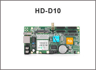 China D10 HD-D10 RGB full color 256 gray scale LED display screen controller card 4 groups HUB75 supports 384*64pixels supplier