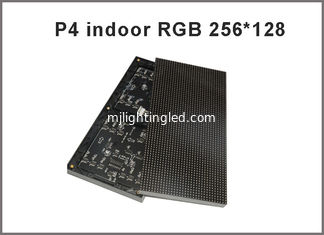 China P4 SMD Full color LED modules 1/16 scan 256*128mm 64*32 pixel 4mm rgb panel,high resolution indoor p4 led video display supplier