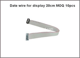 China 50pcs/lot 20cm 16Pin Long Flat Wire/ Hub Cable Pure copper Data cable for LED Display supplier