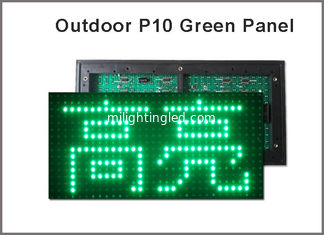 China Green outdoor P10 led display module digital display moving sign display board LED board supplier