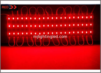 China Super Bright injection molding 5730 red LED Module 3 LEDS Light Waterproof For LED Channel Letter Advertising Sign supplier