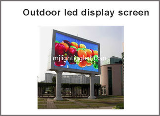China Outdoor RGB P10 LED display module Full Color panel led display screen led dot matrix supplier