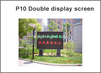 China P10 Outdoor Red + Green Bi-Color LED Display Module Waterproof P10 Double Color 1R1G LED Module programmable display supplier