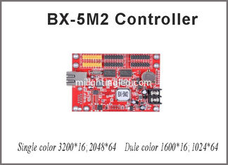 China Onbon BX-5M2 controller card 64*2048 pixel single/dual color control card with usb port with p10 led module for led supplier