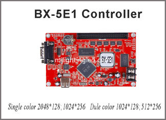 China 256*1024 pixel led controller card Onbon BX-5E1 led control card supply for P10 programable led sign outdoor supplier