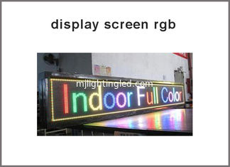 China P10 RGB indoor full color 3 in 1 LED module 1/8 duty, 320mm x 160mm 32*16 pixle video image led display board supplier