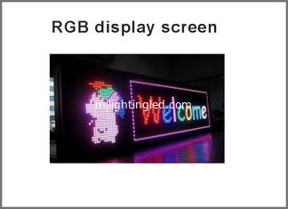 China P3 RGB indoor full color 3 in 1 LED module 1/32 192mm x 192mm 64*64 pixle video image constant current.led display supplier