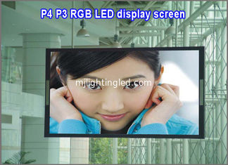 China P4 led dot matrix display module indoor rgb 64*32 1/16scan led panel billboard screen moving digital sign board panel supplier