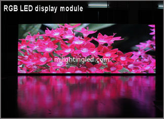 China P8 Outdoor RGB Full Color LED Display Module 3in1 256*128mm 32*16 pixels for High Clear Big Screen supplier