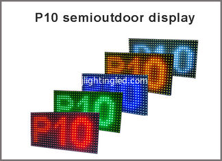 China 5V P10 module led display 320*160  32*16 display panel P10 led light advertising signage red green blue yellow white supplier