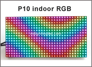China Programmable led screen indoor p10 with SMD RGB color rolling information led screen display fullcolor display board supplier
