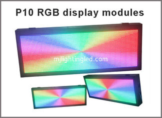 China P10 smd modules outdoor full color video led screen or RGB led sign unit module P10 rgb outdoor advertisign supplier
