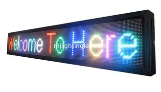 China P10 outdoor rgb led moving sign 32x16Pixel led message sign p10 led display module rgb door sign led screen billboard supplier