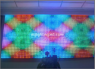 China 12mm RGB Full Color Pixels dot light Digital Addressable LED String Light 5V IP68 wall message display screen board supplier
