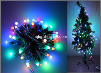 China 5V Fullcolor LED Party light 50PCS 1903IC RGB 12mm Pixels digital Addressable String Christmas tree decoration supplier