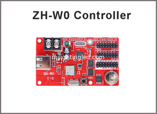 China ZH-W0 wifi led control card 32*1024,16*2048 pixels for P10 led panel text message board screen sign supplier