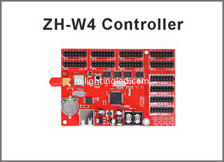 China ZH-W4 led wifi controller card 800*128 pixels with USB port for p10 module panel led moving programble sign supplier