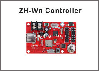 China 320*32 Pixels ZH-Wn USB Port LED Control Card  wifi Wireless programming system for LED Advertising Billboard supplier