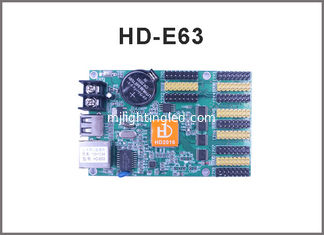 China HD-E63(HD-E41) Ethernet display controller network +USB communication control system for LED display signs supplier