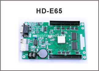 China LED control system HD-E65 HD-E43 LAN controller for single color & dual color led display sign supplier