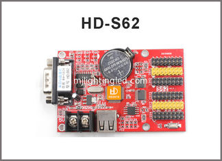 China Led control card supply Huidu HD-Q41 HD-S62 LED controller card USB+SERIAL port 1024*64 pixel for p10 led screen supplier
