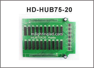 China 20*HUB75 Conversion Card Fullcolor Led Screen Display Module Adapter Port Included For HD control card supplier