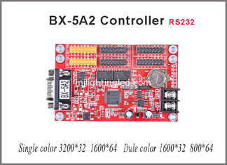 China Serial Port BX-5A2 led panel controller P10 led control card LED display partition border card supplier