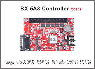 China P10 led module led sign Onbon BX-5A3 controller 128*1024 pixel SERIAL port controller single/dual color LED display sign supplier