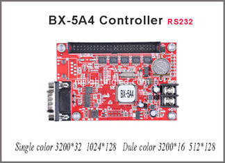 China Asynchronous RS232 BX-5A4 led sign controller for single/dual color Lintel LED message text display supplier