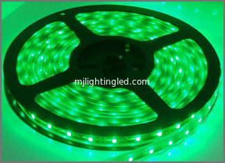 China 60led strip light 3528 glue waterproof IP65 Gre 60led/meters 300led 5m/roll DC12V led flexible strips outdoor decoration supplier