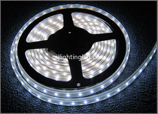 China 60LED/m 3528 flexible led tape 12VDC LED light waterproof IP65 outdoor decoration White led strips supplier