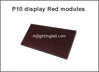 China Semi-outdoor P10 panel LED display module scrolling message moving signs advertising programmable dispaly panel supplier
