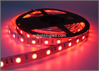 China LED Strip 5050 Not Waterproof DC12V 60LEDs/m 5m/lot Flexible LED Light Red 5050 LED Strip LED Tape Home Decoration Lamps supplier