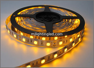 China 5050 SMD led Strip Bar light String holiday Lights 60leds/m DC12V Yellow strips led supplier