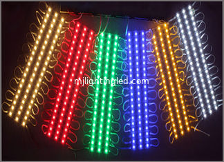 China Outdoor 5050 Led Module Smd Modules3 Leds Waterproof For Signboard Lighting red green blue yellow warm white modules supplier